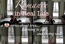 Romance in Real Life / Love in books is so easy. What about romance in real life? We're going to live the life of a romance heroine for 100 days, aiming to have one romance novel or film inspired moment a day. Our goal is to test romance in real life and to learn, like all our friends tell us, to be more open to love.   If you'd like to follow our adventures, be sure to check in every day and follow us on YouTube or at bookswithbenefits.com / by J.W. Ashley