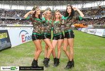 Cheerleaders / fot. Łukasz Trzeszczkowski / www.trzeszczkowski.pl