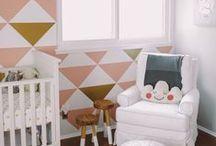 Nursery / Cute baby rooms.