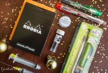 Gift Giving Guide / Looking to give someone the perfect fountain pen gift? Look no further...