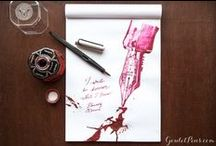 Pen and Ink Pairings: Monday Matchup / Each week, we pair up a pen and ink to show you what they can do! All artwork and writing is done by our team.
