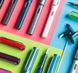 Everything Lamy / We love Lamy pens, especially the rainbow of colors offered.