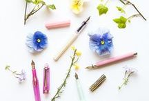 Hello Spring / Grow your fountain pen collection with these spring-inspired picks! These fountain pens, ink, and paper picks will have you writing throughout the season.