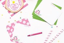 Kids / Stationery & Writing / kids stationery ideas, stationery for children, writing ideas for kids, handwriting practice, writing lesons