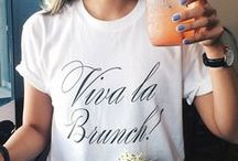 Brunching at Tiffany's / Meals, outfits and locations all inspired by brunch.