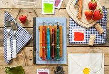 Summer Days / Summer is a great time to try out new fountain pens, paper and inks! Here are our suggestions to try this season!