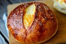 eats | bread / food, bread, muffins, toast, recipes, bagels, pretzels