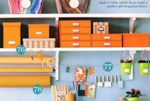 Scrap Book Room and Storage Ideas / by Vicki Mason