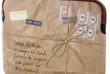 bagged, totes / Bags, totes, purses, etc.   / by Mary Marcotte