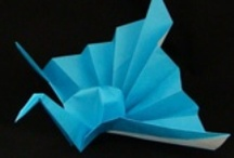 folded, origami / Enjoy making all manner of things with paper. / by Mary Marcotte
