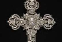 crosses, crucifix  / by Mary Marcotte