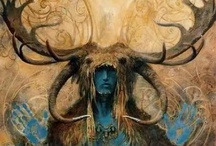 Satyrs, Stags, Bulls & Other Horned Beings / by Mary P Brown