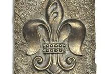 French, fleur de lis / Can't help myself, as owner of Fleur de Lis Quilts, I really do need to check out other fleur de lis designs. Visit Fleur de Lis Quilts at www.fleurdelisquilts.blogspot.com #fleurdelisquilts, #marymarcottequilts