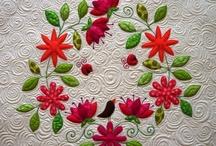 applique, quilts / Visit me at http://fleurdelisquilts.blogspot.com/ / by Mary Marcotte