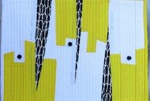 modern, quilts / Bright, clean, modern quilts! Visit Fleur de Lis Quilts at www.fleurdelisquilts.blogspot.com #fleurdelisquilts, #marymarcottequilts