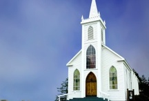 church, building / by Mary Marcotte