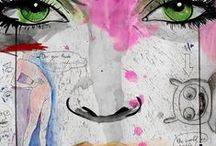 Art--Mixed Media / by Nancy Oh