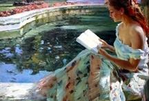 ART . OF READING / by Rebecca Richardson