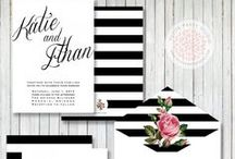 W - Invites & Graphic Design / Invitation and graphic design inspiration for the wedding / by Kitten Nelson