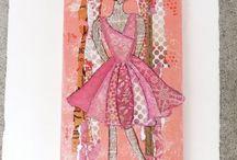 Valerie Burgess Collage Designs,LLC / Collage,handmade journals,mini albums and paper crafts