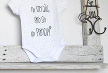 T-shirts & Bodies. Vinilo y pintura textil.