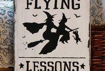 Idee per addobbare halloween / quando la notte si cercano le streghe.....puntuali arrivano