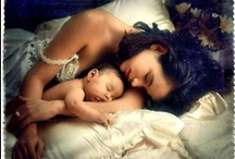 ~ mother and child ~ / ~ a mother's arms are made of tenderness and children sleep soundly within them ~~ (victor hugo) ~  / by Jewel Tillotson