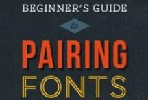 Typography / by Marta Draper