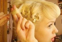 Beehives and Pincurls / Lovely retro-inspired hairdos and hairstyling tips for lovely ladies! / by The Fascinatrix