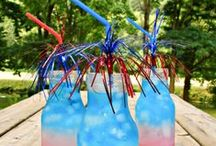 Red, White & Blue / One stop for everything related to Red, White & Blue holidays! / by Ginni Sterling