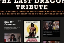 The Last Dragon Tribute / Pinterest Photo Tribute to the 1985 Martial Arts meets Motown Classic Berry Gordy's The Last Dragon.