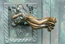 ~ come to my door ~ /  ~ the door handle is the handshake of the building ~~ (juhani pallasmaa) ~    / by Jewel Tillotson