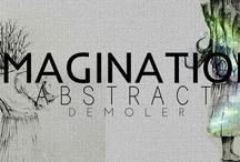 Abstract imagination demoler