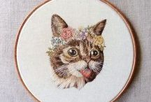 Stitch Witchery / Cross stitch and embroidery / by Brittany Ketterman