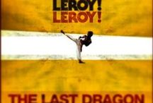 The Last Dragon Movie Posters / A collection a various Berry Gordy's The Last Dragon movie posters from around the world, VHS, BETA, DVD, Fan art and more.