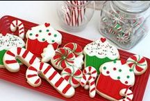Christmas / The best Christmas ideas for cookies and cupcakes