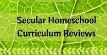 Secular Curriculum Reviews / Secular curriculum reviews from secular homeschoolers