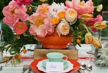 Party Ideas / Beautiful decorations for weddings and parties.