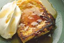 FOOD: Breakfast / bacon, eggs, pancakes, breakfast