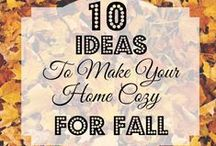 Fall Decor / Decorating Ideas