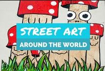 'Street Art Around The World' / A collection of great street art photos capture by travelers and travel bloggers around the world.  To contribute pins, contact us at - twitter.com/ai_followus
