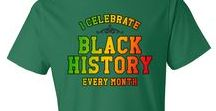 Black History Month / Celebrating all of the great contributions that African Americans have given us, not just this month, but all year round!