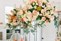 Tall centerpieces / by Floret Cadet