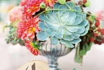 Centerpieces and table flowers / by Floret Cadet