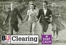 Keep Calm for Clearing - 2012 / Found yourself in university clearing?  Don't worry: keep calm and call BU!