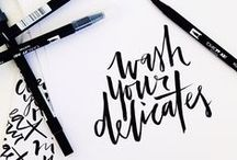 Type / Lettering / Calligraphy