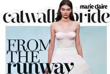MC Catwalk Bride / We give you the most jaw-dropping wedding looks as we go from classic to Twenties and all the way to short & sweet. Also get a peek at the latest jewels and honeymoon lingerie…http://www.marieclairvoyant.com/bride-2
