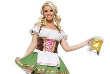 Oktoberfest / Get inspired for Oktoberfest with German traditions, good beer, and Oktoberfest costumes. Dress as a beer girl or tavern maid, or toast in lederhosen!