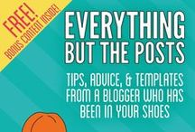 Everything But the Posts: Tips, Advice, and Tutorials From a Blogger Who Has Been in Your Shoes / Posts that help to further explain concepts in the book for bloggers Everything But the Posts: Tips, Advice, and Tutorials From a Blogger Who Has Been in Your Shoes. Now available in paperback, on Kindle, Nook, and iBooks: http://everythingbuttheposts.com / by Becca Ludlum | My Crazy Good Life