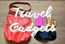 Travel Gadgets & Must-Haves / helpful, practical, girly, nerdy, fancy and all-purpose travel gadgets and must-haves